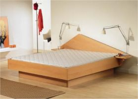 akva menuet a modern hard sided waterbed